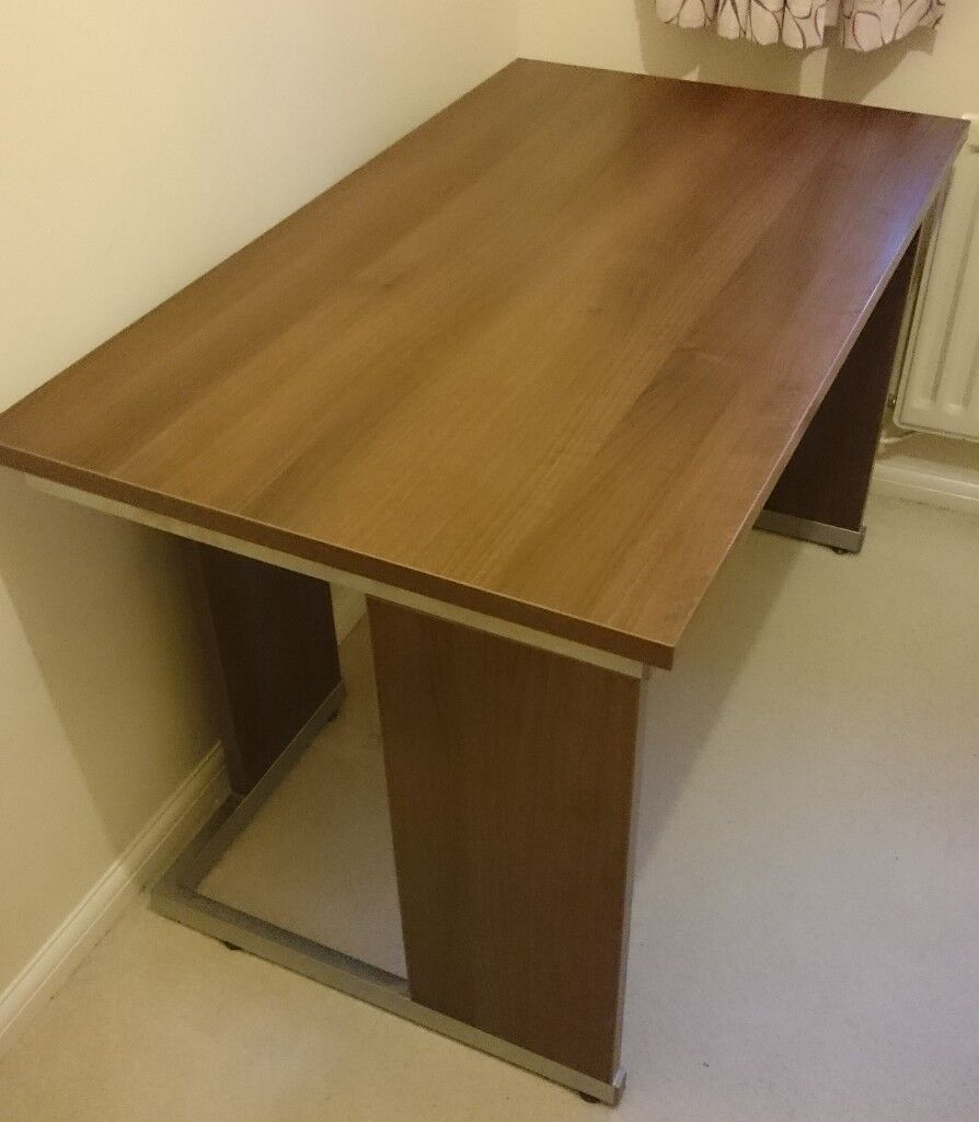 Citiline II Walnut Office/Computer Desk