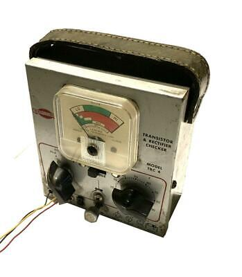 Sencore Trc-4 Transistor And Rectifier Checker - Sold As Is