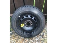 """Ford space saver spare wheel includes jack fiesta mk6 like new 14"""""""