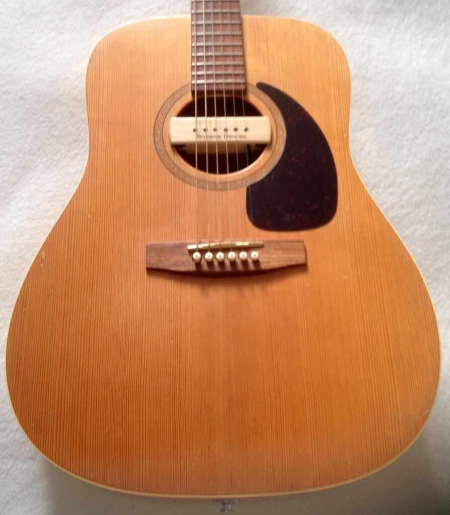 Canadian Made All Solid Wood Norman Acoustic Guitar With Seymour