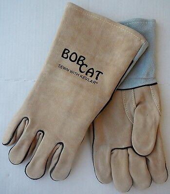 Mcr Memphis 4740 Bob Cat Leather Straight Thumb Natural Xl Welding Gloves