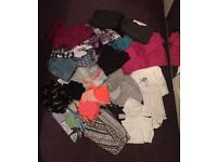 Mixed bundle of girls clothes age 12-13