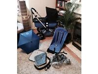 Amazing Bugaboo Cameleon 2 with accessories