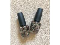The Living Daylights glitter polish OPI