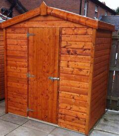 6ft x 4ft garden shed - Garden Sheds Belfast