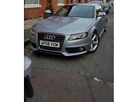 Audi a4 sline damaged salvage