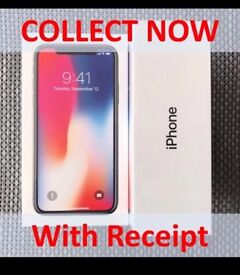 **COLLECT NOW** - Apple iPhone X 10 256GB SILVER- SIM FREE - Unlocked - With Receipt - SOLD OUT