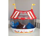 Hamster Circus Cage