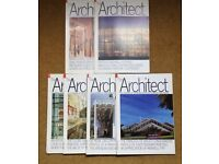 Vintage 1986 & 1987 'THE ARCHITECT' The Journal of the Royal Institute of British Architects