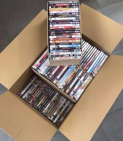 150 Refurbished Mixed DVD's Professionally Refurbished & Sealed