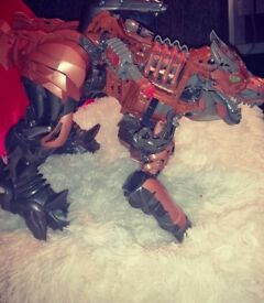 Transformer like dinosaur