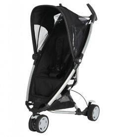 Quinny Zapp, black with silver frame