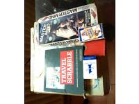 SELECTION OF BOARD GAMES - GO, SCRABBLE, MASTERMIND etc.