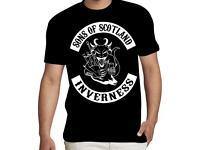 "T-SHIRT "" SONS OF SCOTLAND"""