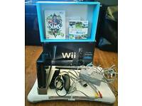 Wii + wii fit board