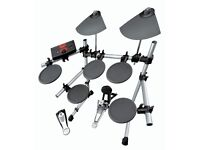 Yamaha DTXplorer Electronic Drum Kit w/ Sticks, Stool and Drum Headphones