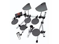 Yamaha DTXplorer Electronic Drum Kit w/ Sticks and Stool