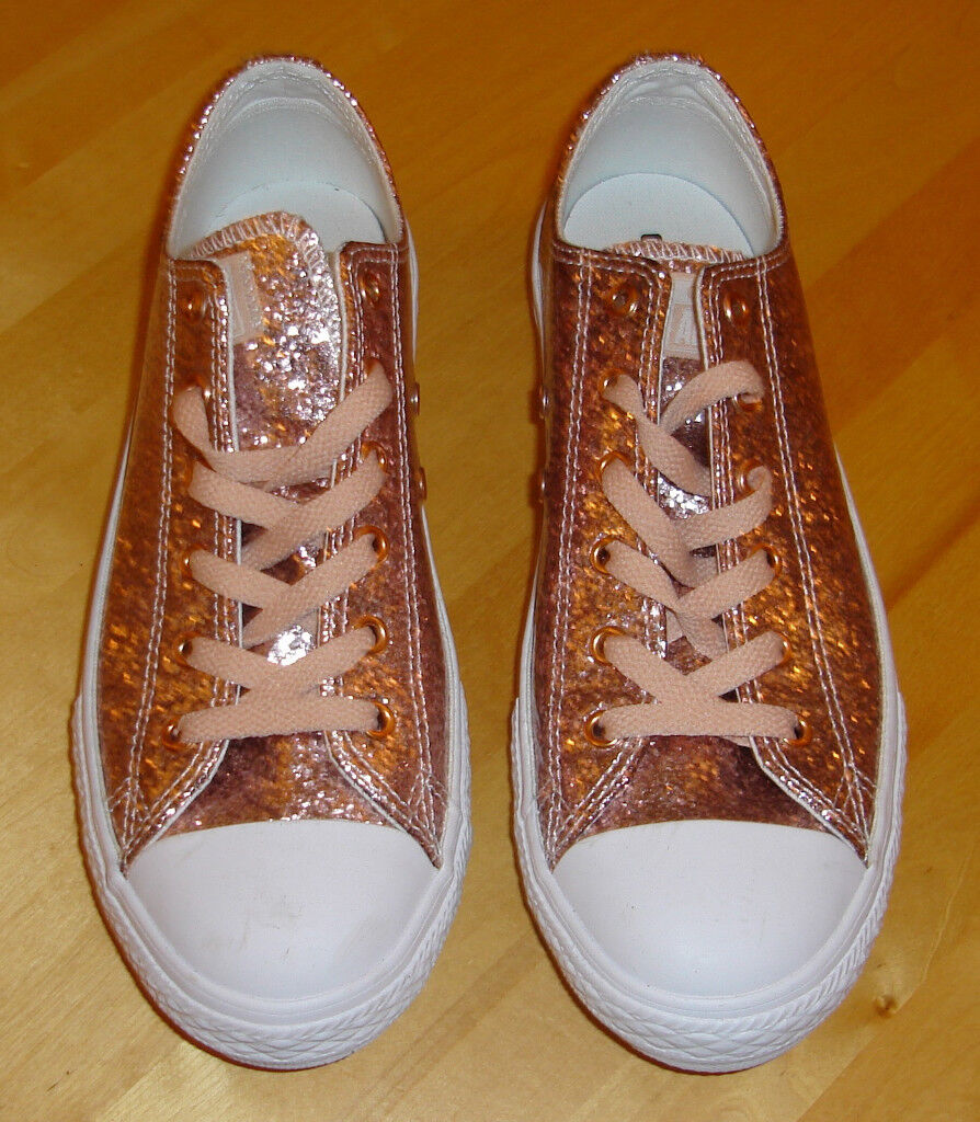 11c8403f2dc0 Converse Chuck Taylor All Star Glitter Ox 659230C- Excellent condition