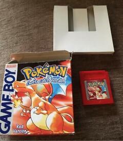 Pokemon Red Complete - Nintendo Gameboy