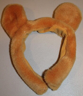 Walt Disney Cute Plush Toddler Kid Winnie the Pooh Headband Ears Halloween