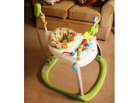 Fisher Price Rainforest Friends SpaceSaver Jumperoo used VGC