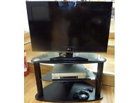 LG flat screen TV 32LK450U - stand as shown available with or without the TV