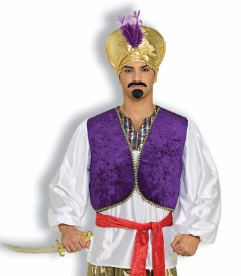 Desert Prince Shirt Vest Men Costume Accessories Sheik Genie Sultan Sinbad Adult](Genie Costume Accessories)