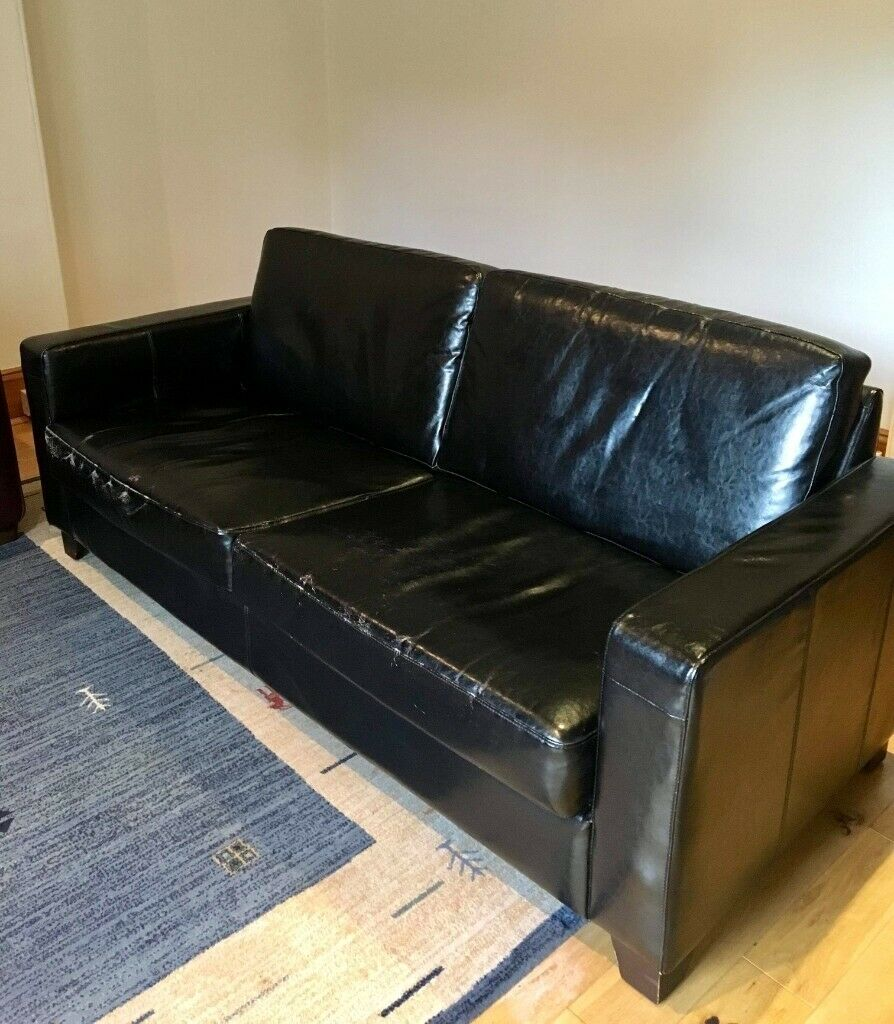Natuzzi Italian leather sofa for sale. | in Aberdeen | Gumtree