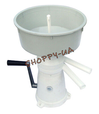 Milk Cream Separator Manual 50lh New Go Green