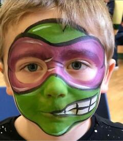 Face Painting by Arcadia Art Design