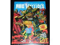 'ABC Warriors Mek Files 01' Hardback Graphic Novel