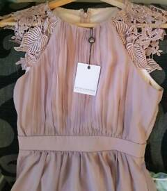 BNWT dusky pink maxi dress