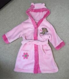 12-18 month monkey dressing gown