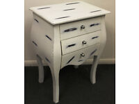 SHABBY LOOK FURNITURE - BEDSIDE - CHEST OF DRAWERS - C218