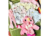 Newborn baby girl starter bundle