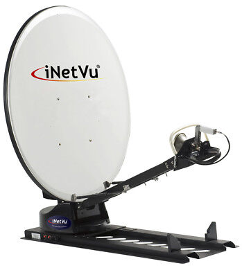 KU BAND iNetvu C-Com 1200 Drive-Away 1.2Mt Automatic SNG Uplink Antenna w/Contr for sale  Sunnyvale