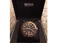 Men's Hugo Boss Watch **Rose Gold**