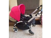 Bugaboo bee plus buggy pram pushchair with rain cover