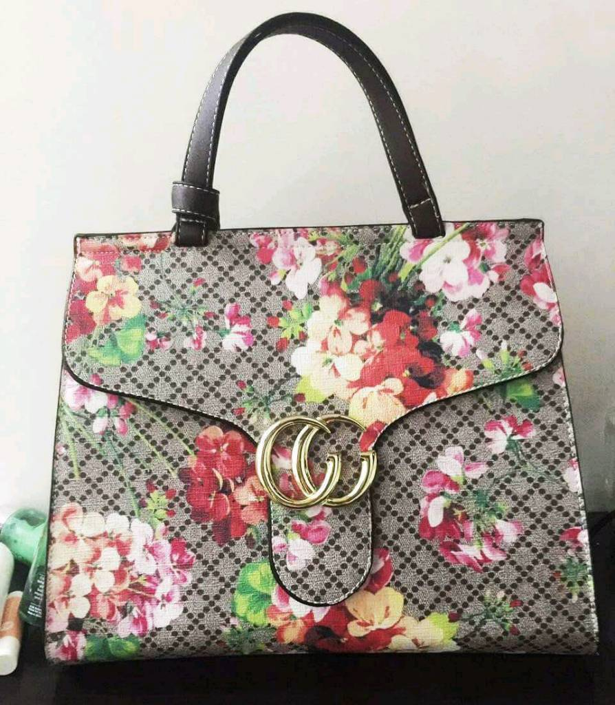 Gucci floral bag with tags stunning quality £60
