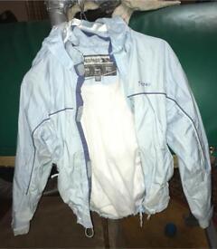 Trespass, light blue, waterproof jacket