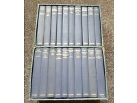 set of twenty classic hard back books in box oxford