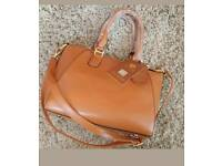 New leather look handbag