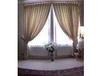 CURTAINS (1 PAIR) LINED
