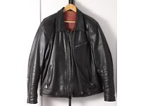 Highway 1 Motorcycle Jacket   Mens   Leather   Black   Excellent Condition