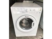 8KG HOTPOINT Style WMYL8352 Free Standing Washing Machine Good Condition & Fully Working Order