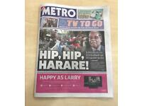 Need unwanted newspapers