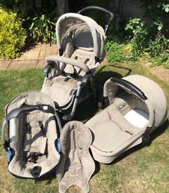 Concord Pushchair/ Pram and Travel System. Baby Car Seat