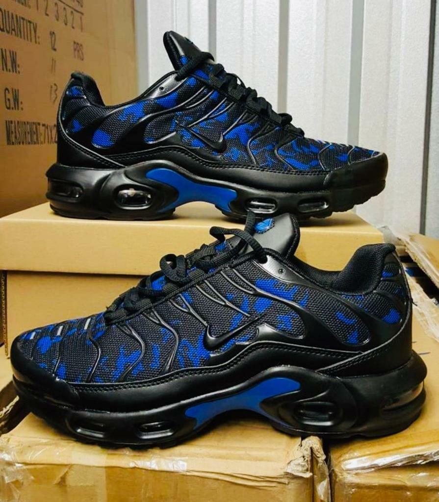 premium selection 28406 e7c21 BRAND NEW NIKE AIR TNS PLUS BLACK AND BLUE ANY SIZE NIKE TRAINERS MAN AND  KIDS GOOD C44 | in Sandwell, West Midlands | Gumtree