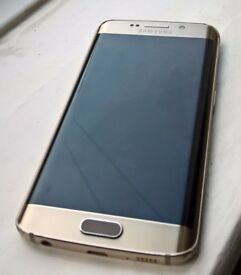 Samsung S6 Edge 32GB Boxed Unlocked Gold in Good Condition with Warranty!