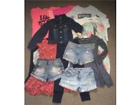 Girl's clothes bundle 8-9 yrs
